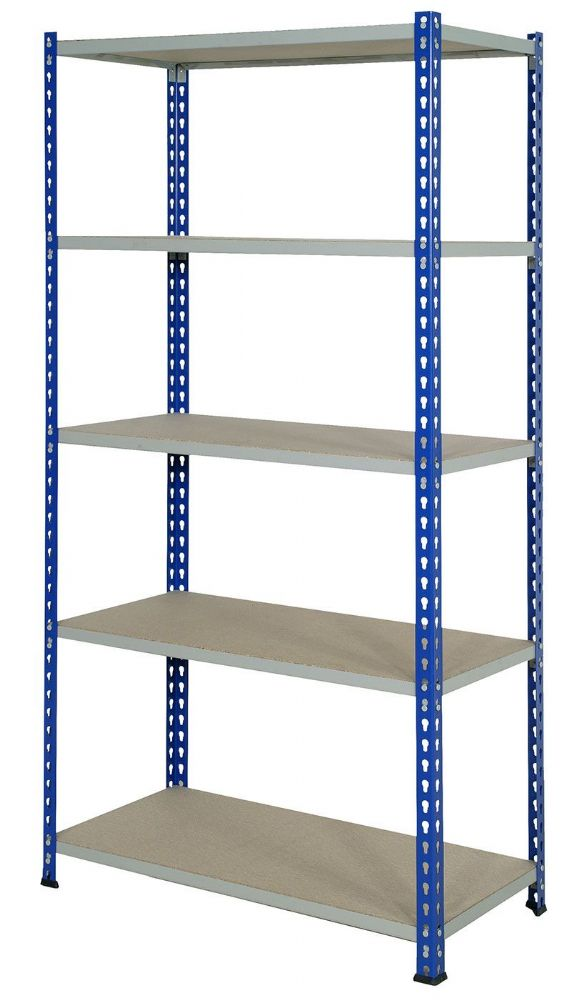 Wide Open Bays - 5 Shelves - 2440mm Wide